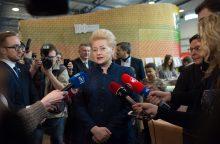 Prezidentė išvyksta į Briuselį, kur prasideda derybos dėl ES biudžeto