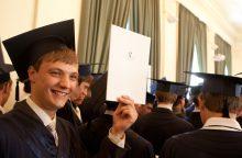 Baltijos šalių universitetų diplomai bus pripažįstami automatiškai