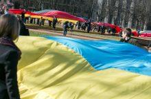 Prie Lietuvos ambasados Kijeve – dūminis užtaisas