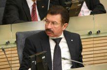 L. Graužinienė: Seimas spręs dėl R.A.Ručio neliečiamybės, jei prašys prokuroras