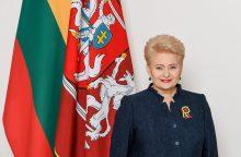 D. Grybauskaitė: Lietuva nori būti ES priešakyje