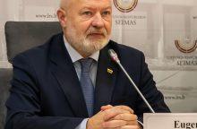 E. Gentvilas: valdantieji buldozeriu griauna regioninę politiką