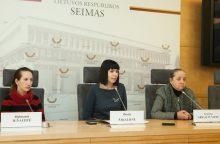 D. Šakalienė: valstybė vietoj pagalbos iš moters atima vaikus