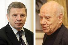 Į socialdemokratų gretas grįžo signatarai B. Genzelis ir J. Pangonis