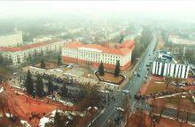 Šiaulių miestas ruošiasi keisti veidą