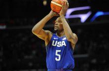 JAV krepšininkų pareiškimas prieš olimpiadą – Kinijos sutriuškinimas