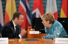Prieš G-20 susitikimą A. Merkel buria sąjungininkus Europoje