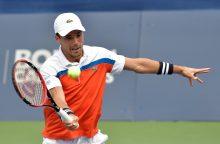 ATP vyrų teniso turnyro JAV vienetų šešioliktfinalis baigėsi be staigmenų