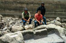 Peru rastas dingusiu laikytas inkų altorius