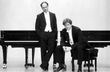 """Pasaulinio garso pianistų duetas """"GrauSchumacher"""" atvyksta į Lietuvą"""