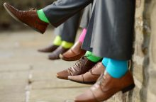 Patarimai, kaip rudenį prižiūrėti vyriškus batus
