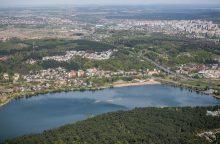 Lampėdžio ežere atsiras irklavimo trasa