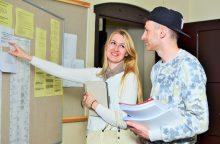 Klaipėdos universitete vyksta studentų priėmimas naujiems studijų metams
