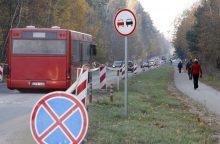 Į kapines kursuos daugiau autobusų