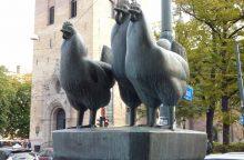Norvegai pagerbė vištas