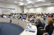 Tarybos salėje – nesuvaldomos aistros