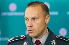 Policijos generalinis komisaras: baudžia ne už poelgį, bet už tai, kad pagauna
