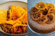 Savaitgalio pietums – aštrus troškinys ir riešutų keksas