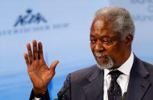 Mirė buvęs JT vadovas K. Annanas <span style=color:red;>(atnaujinta)</span>