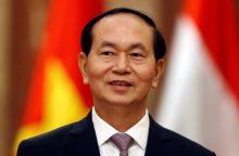 Mirė Vietnamo prezidentas