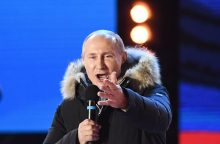 Rusija paskelbė galutinius prezidento rinkimų rezultatus