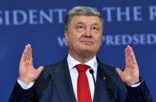 P. Porošenka vis dar neatskleidžia, ar dalyvaus prezidento rinkimuose