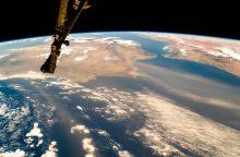 Rusijos kosmonautai ant TKS sumontavo įrangą gyvūnams stebėti, paleido mikropalydovų