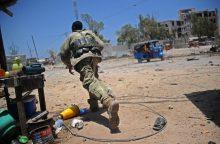 Somalyje tarp ekstremistų atakos aukų yra viceministras