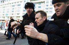 Rusijos KT atsisakė nagrinėti A. Navalno skundą dėl dalyvavimo prezidento rinkimuose