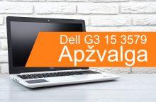 """Ko tikėtis iš nešiojamojo kompiuterio """"Dell G3 15 3579""""? <span style=color:red;>(apžvalga)</span>"""