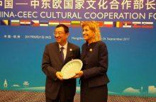 Kinijos kultūros ministras: šalį apėmė tikra lietuviškos kultūros karštinė
