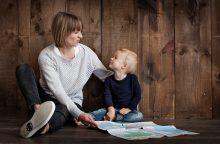 Kaip rasti balansą tarp džiaugsmo ir nerimo dėl vaikų?