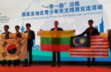 Astrofizikos olimpiadoje Kinijoje lietuvis laimėjo bronzą