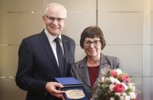 Pagerbta M. Lukšienės mokslo premijos laureatė R. Bruzgelevičienė