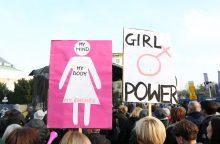 JAV žodyno metų žodis – feminizmas