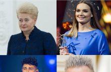 Kalėdinės dainos vaizdo klipe nusifilmavo ir D. Grybauskaitė
