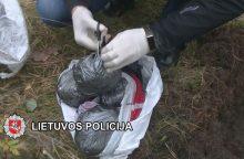 Klaipėdos pareigūnų laimikis: narkotikus rado užkastus prie bėgių