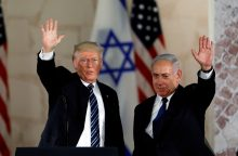 D. Trumpas oficialiai pripažins Izraelio suverenitetą Golane