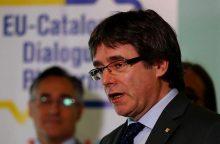 Vokietija ketina išduoti C. Puigdemont`ą