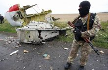 Malaizijos lėktuvą Ukrainoje numušė rusiška raketa