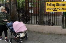 Airijoje prasideda referendumas: po 35 metų draudimo gali pritarti abortams