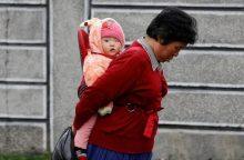 Penktadalio Šiaurės Korėjos vaikų vystymasis yra sutrikęs