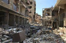 Maskva: cheminių atakų Sirijoje įrodymai buvo suklastoti <span style=color:red;>(papildyta)</span>