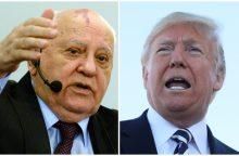 M. Gorbačiovas sukritikavo D. Trumpo sprendimą nutraukti sutartį su Rusija