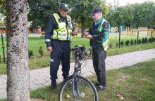 Uostamiesčio dviratininkai: į trasą – apsvaigę