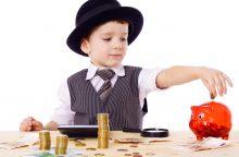 Vaikų finansinis raštingumas – tėvų atsakomybė