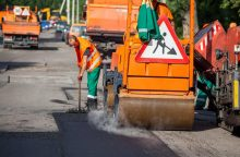 Rugsėjį sostinėje laikinai sustabdomi remonto darbai