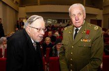 Šalies vadovai: partizanas V. Balsys-Uosis išliks patriotizmo simboliu