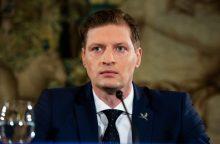Premjeras prezidentei pateikė K. Mažeikos kandidatūrą į aplinkos ministrus