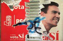 """Ispanijos socialistai – ant """"pilietinio karo"""" slenksčio"""